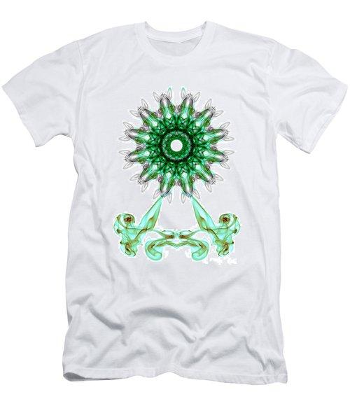 Smoke Wheel Men's T-Shirt (Athletic Fit)