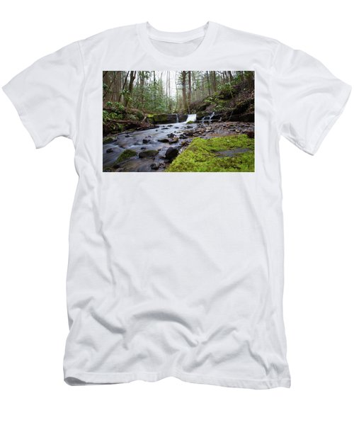 Smokey Mountains 4 Men's T-Shirt (Athletic Fit)