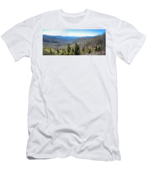 Smokey Mountains Pan Men's T-Shirt (Athletic Fit)