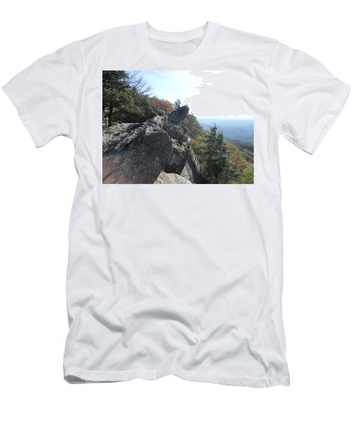 Smokies 18 Men's T-Shirt (Slim Fit) by Val Oconnor