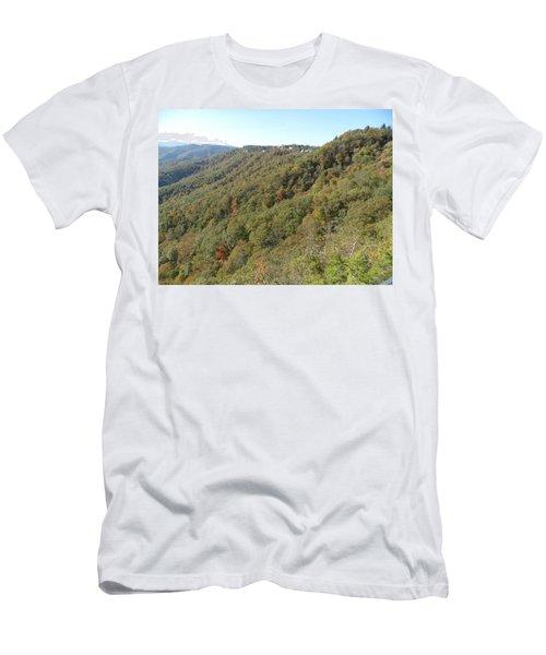 Smokies 19 Men's T-Shirt (Slim Fit) by Val Oconnor