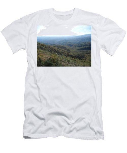 Smokies 20 Men's T-Shirt (Slim Fit) by Val Oconnor