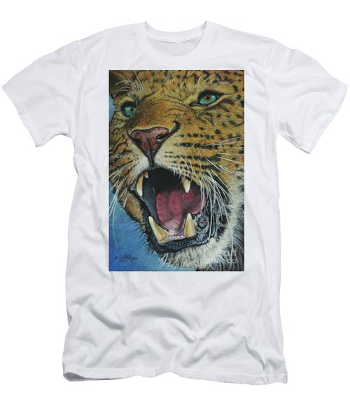Snarl...amur Leopard Men's T-Shirt (Athletic Fit)