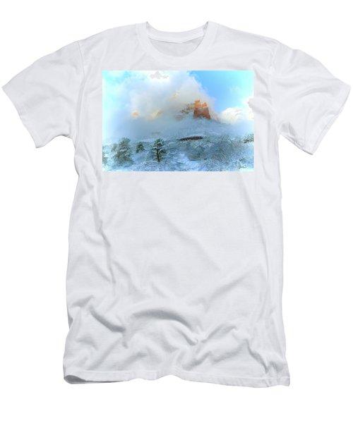 Snow 07-104 Men's T-Shirt (Slim Fit) by Scott McAllister