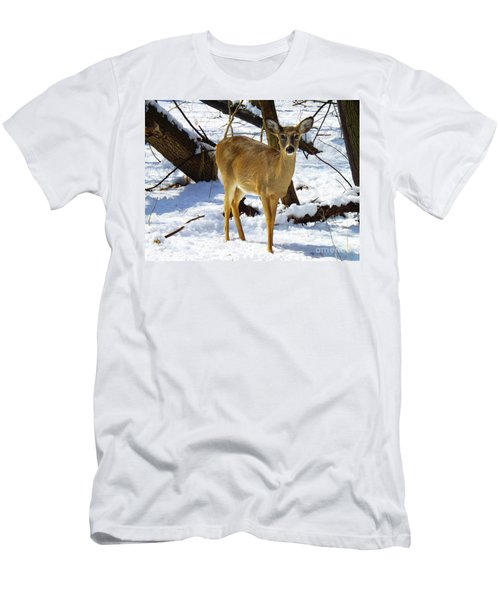 Snow Angel Men's T-Shirt (Athletic Fit)