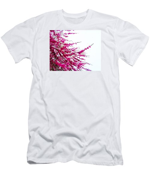 Snow Blossoms Men's T-Shirt (Athletic Fit)