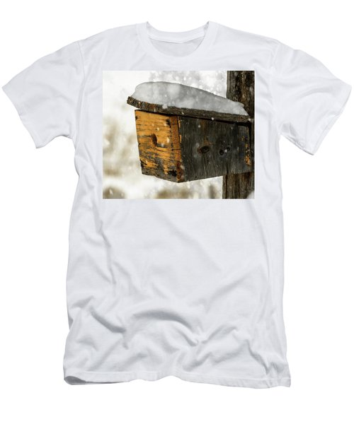 Snow Cover Men's T-Shirt (Slim Fit) by Sherman Perry