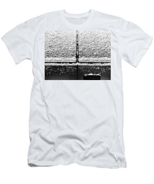 Men's T-Shirt (Athletic Fit) featuring the photograph Snow Covered Rear by Robert Knight