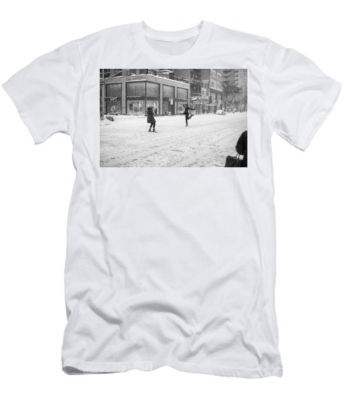 Snow Dance - Le - 10 X 16 Men's T-Shirt (Athletic Fit)