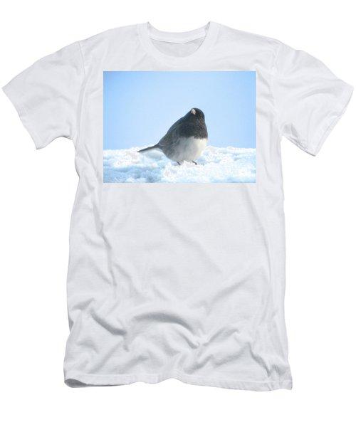 Snow Hopping #2 Men's T-Shirt (Athletic Fit)