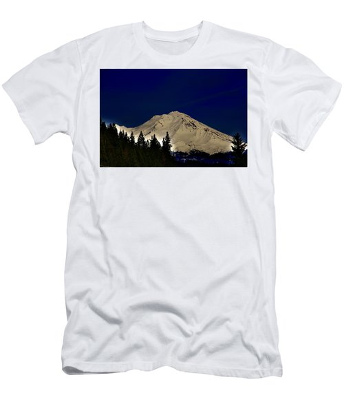 Snow On Shasta Men's T-Shirt (Athletic Fit)