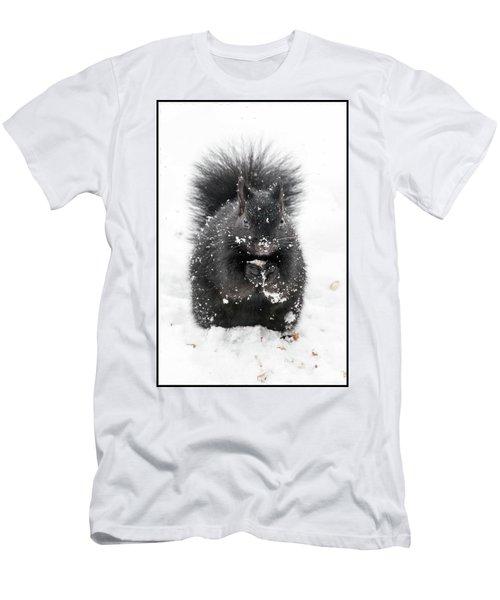 Snow Squirrel Men's T-Shirt (Athletic Fit)