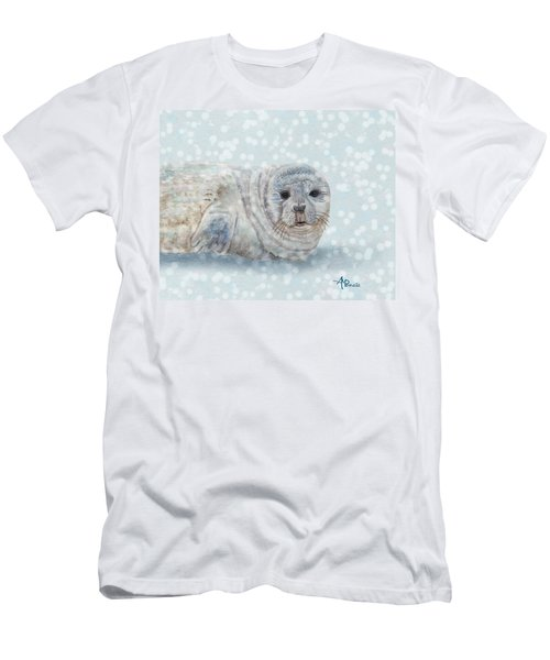 Snowy Seal Men's T-Shirt (Athletic Fit)