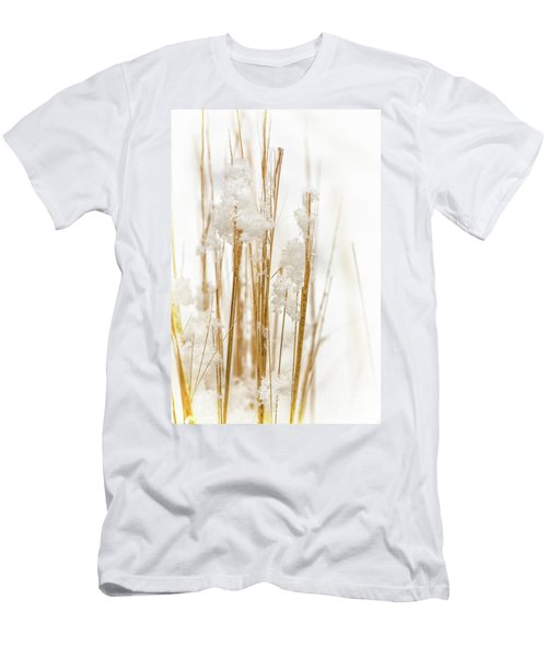 Snowy Weed - Vertical Men's T-Shirt (Athletic Fit)