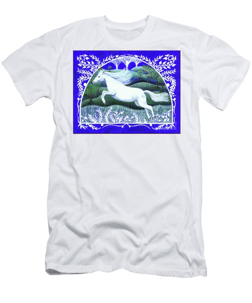 Men's T-Shirt (Athletic Fit) featuring the painting Soar by Lise Winne