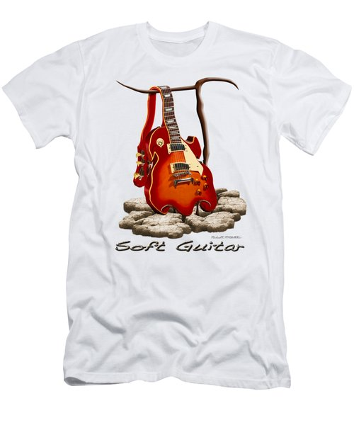 Soft Guitar - 3 Men's T-Shirt (Slim Fit) by Mike McGlothlen
