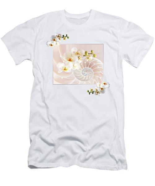 Soft Pink Fusion Men's T-Shirt (Athletic Fit)