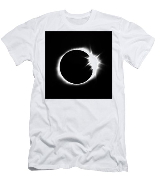 Solar Eclipse Men's T-Shirt (Athletic Fit)
