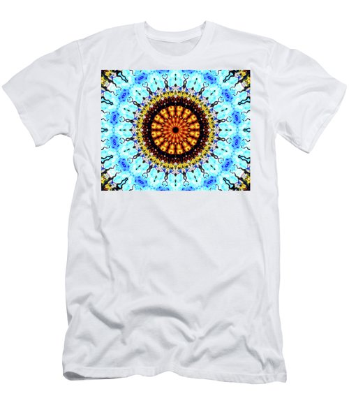 Men's T-Shirt (Slim Fit) featuring the digital art Solar Flare 1 by Wendy J St Christopher