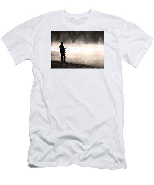 Solitude Men's T-Shirt (Slim Fit) by Stephen Flint