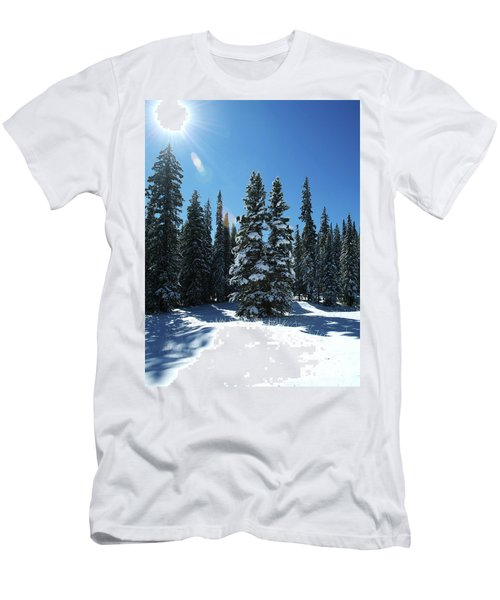 Some Where In Colorado Men's T-Shirt (Athletic Fit)