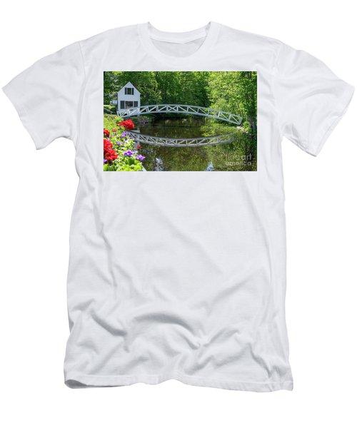 Somesville Bridge Men's T-Shirt (Athletic Fit)