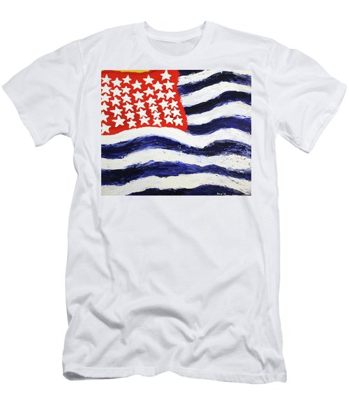 Something's Wrong With America Men's T-Shirt (Athletic Fit)