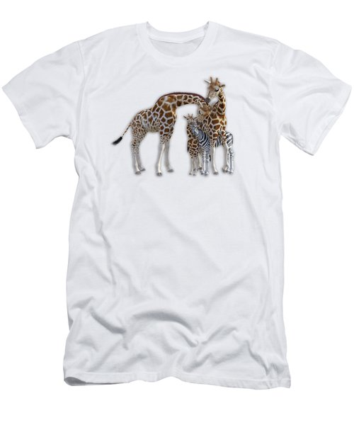 Sometimes You Have To Find The Right Spot To Fit In Men's T-Shirt (Slim Fit) by Betsy Knapp