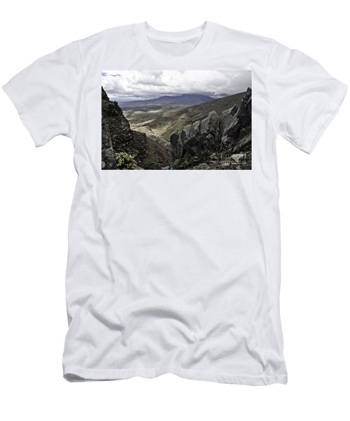 Men's T-Shirt (Slim Fit) featuring the photograph Somewhere In New Zealand by Yurix Sardinelly