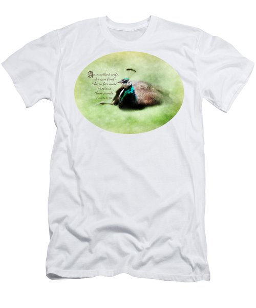 Sophisticated - Verse Men's T-Shirt (Slim Fit) by Anita Faye