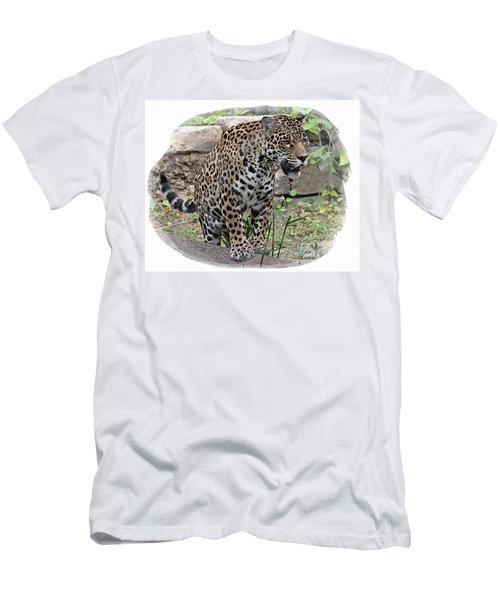 South American Jaguar Men's T-Shirt (Athletic Fit)