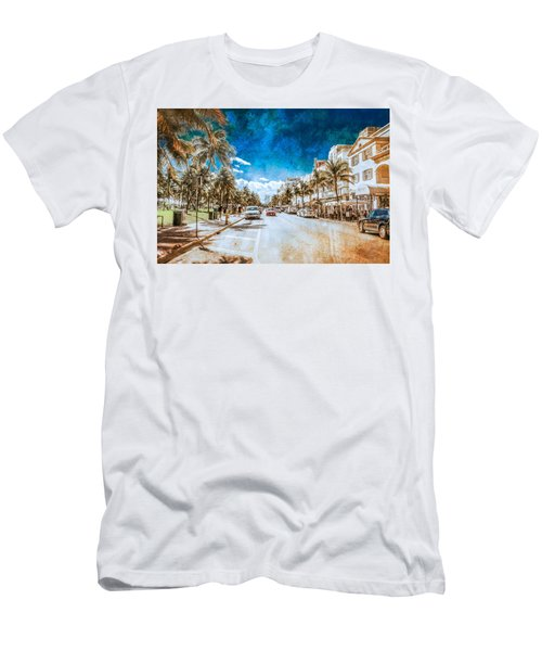 South Beach Road Men's T-Shirt (Athletic Fit)
