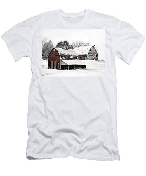South Dakota Farm Men's T-Shirt (Athletic Fit)