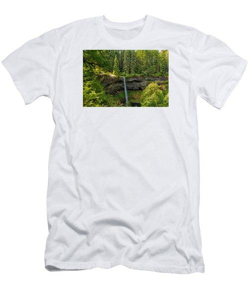 South Falls 0417 Men's T-Shirt (Athletic Fit)