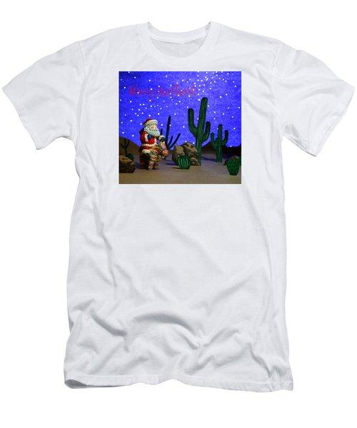 Southwest Santa  Men's T-Shirt (Athletic Fit)