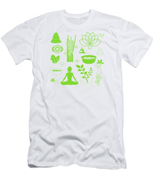 Spa Meditation Background Men's T-Shirt (Athletic Fit)