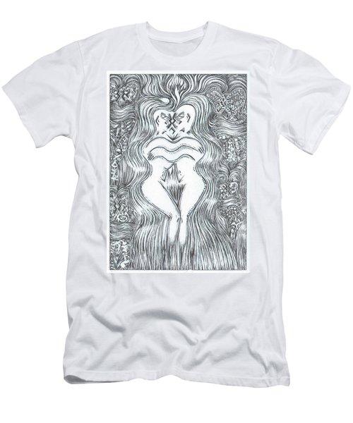 Space Dance Men's T-Shirt (Athletic Fit)