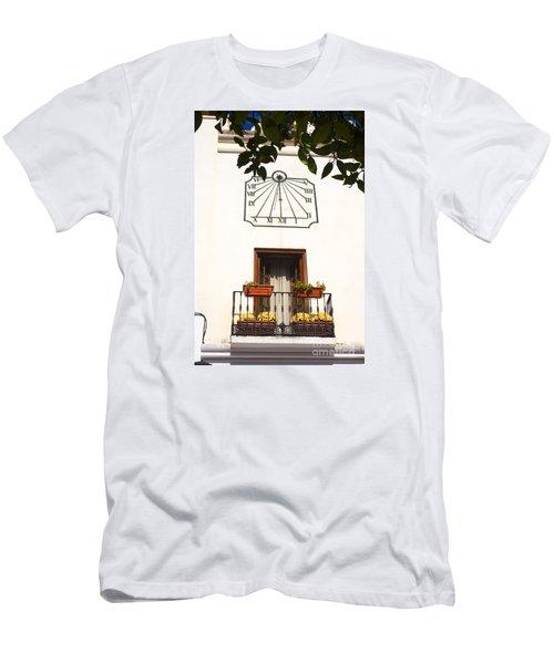 Spanish Sun Time Men's T-Shirt (Athletic Fit)