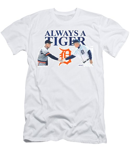Sparky Anderson And Jim Leyland Men's T-Shirt (Athletic Fit)
