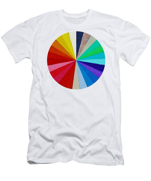 Spectrum From The Colored Beads Men's T-Shirt (Athletic Fit)