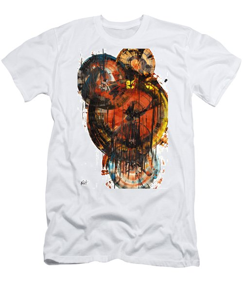 Men's T-Shirt (Athletic Fit) featuring the painting Sphere Series 1023.050312 by Kris Haas