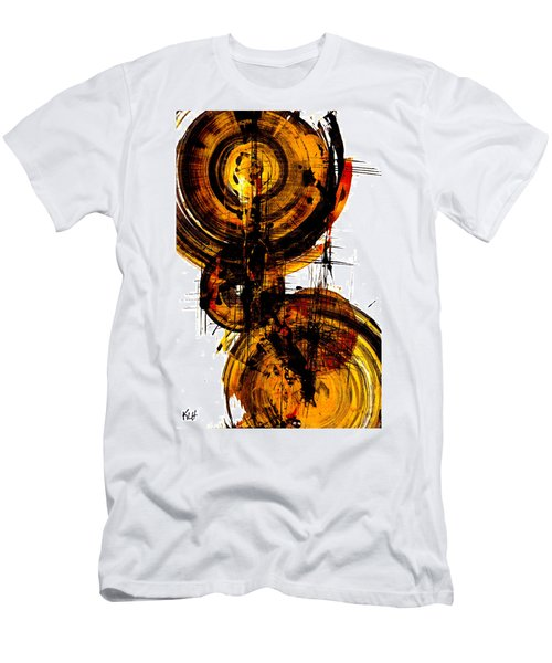 Spherical Joy Series 51.041011vsscvs Men's T-Shirt (Slim Fit) by Kris Haas