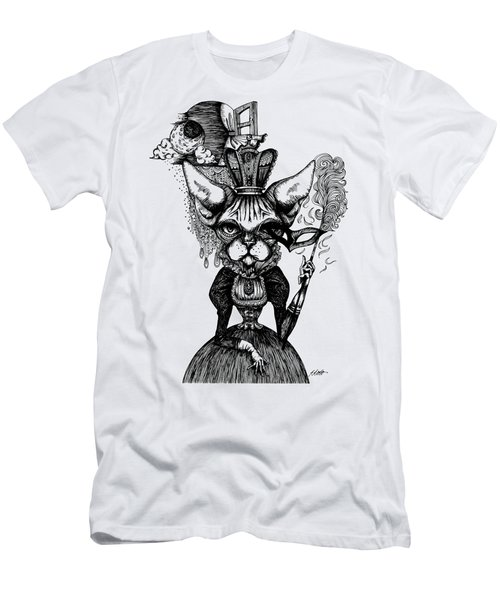 Sphynx Queen Men's T-Shirt (Slim Fit) by Akiko Okabe