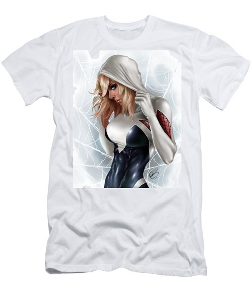 Spider Gwen Men's T-Shirt (Athletic Fit)