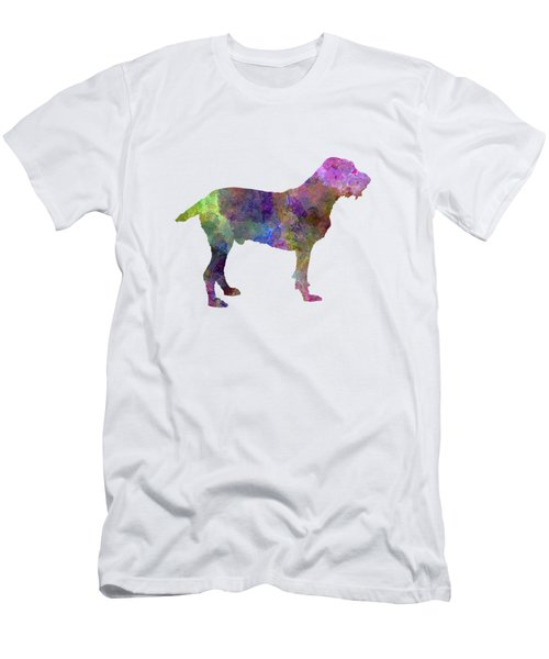 Spinone In Watercolor Men's T-Shirt (Slim Fit) by Pablo Romero