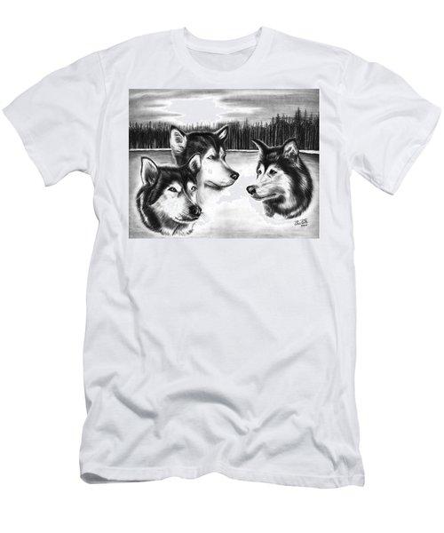Spirit Guides  Men's T-Shirt (Athletic Fit)