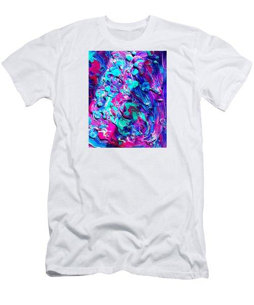 Splash Of Color Men's T-Shirt (Athletic Fit)