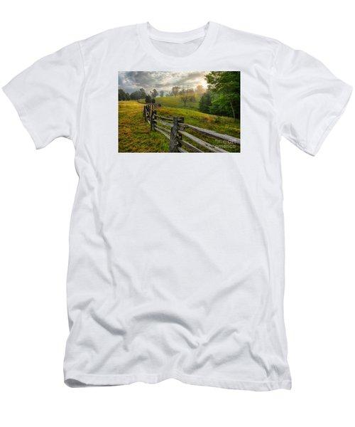 Splash Of Morning Light Men's T-Shirt (Slim Fit) by Dan Carmichael
