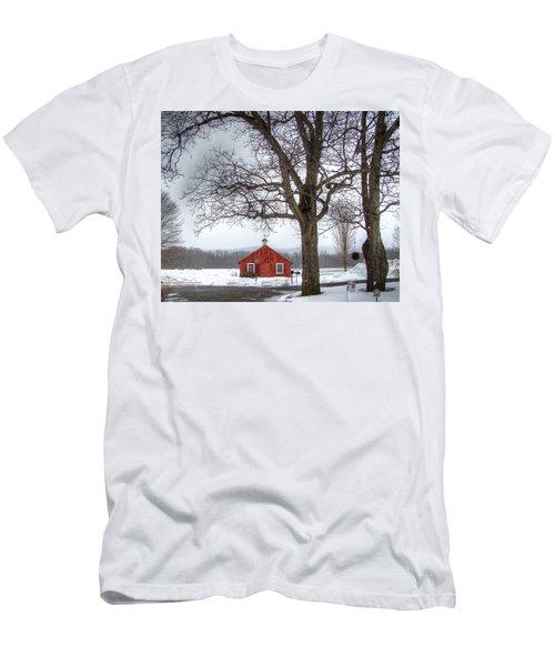 Spot Of Color Men's T-Shirt (Athletic Fit)