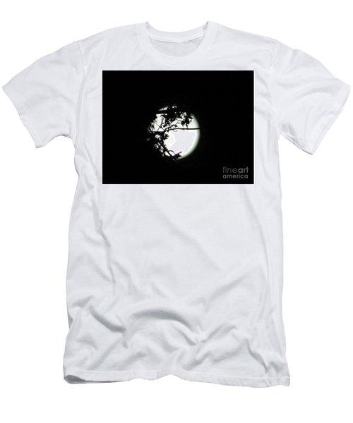 Spotlight Moon Men's T-Shirt (Athletic Fit)